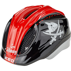 KED Meggy II Originals Helm Kinder sharky red